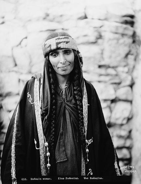Bedouin_woman_2_(1898_-_1914)